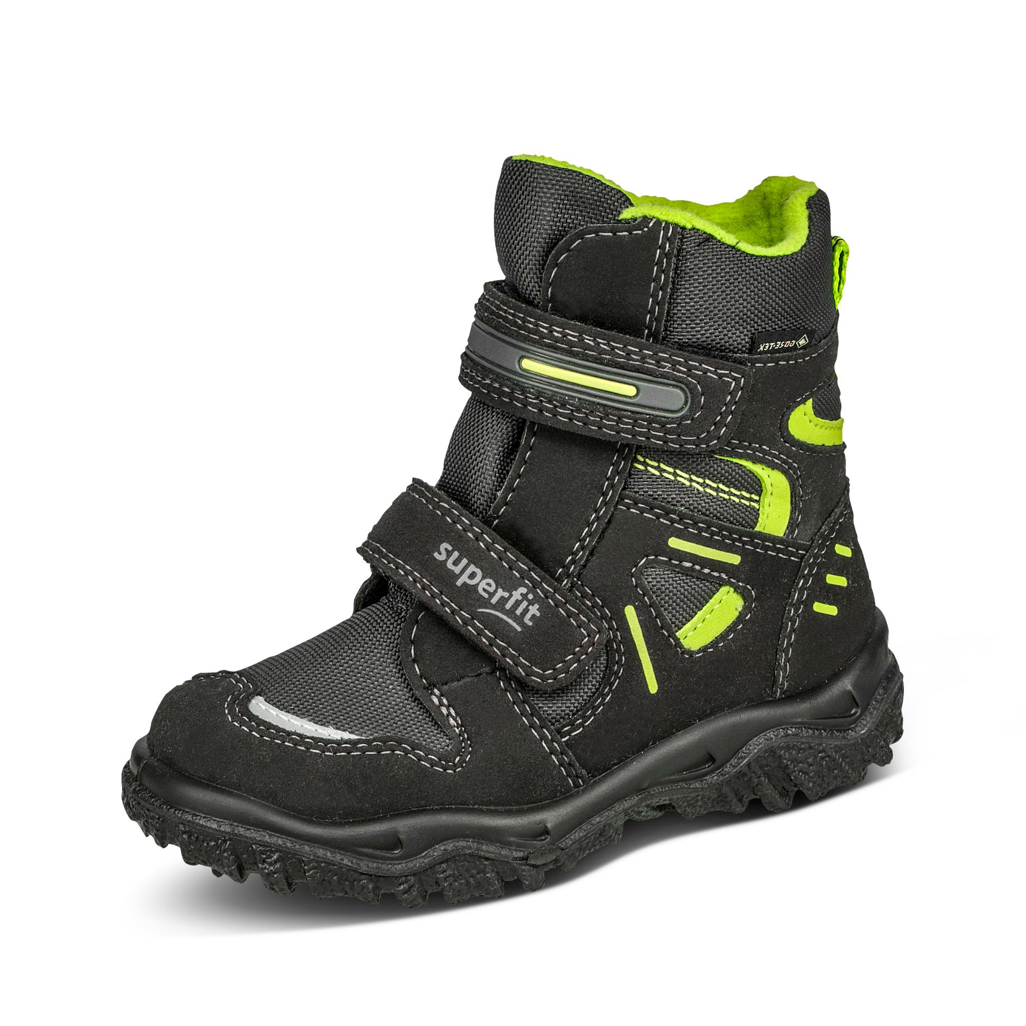 low priced 6248f 74c5e Superfit GORE-TEX® Winterstiefel - schwarz/neongrün um 7 ...
