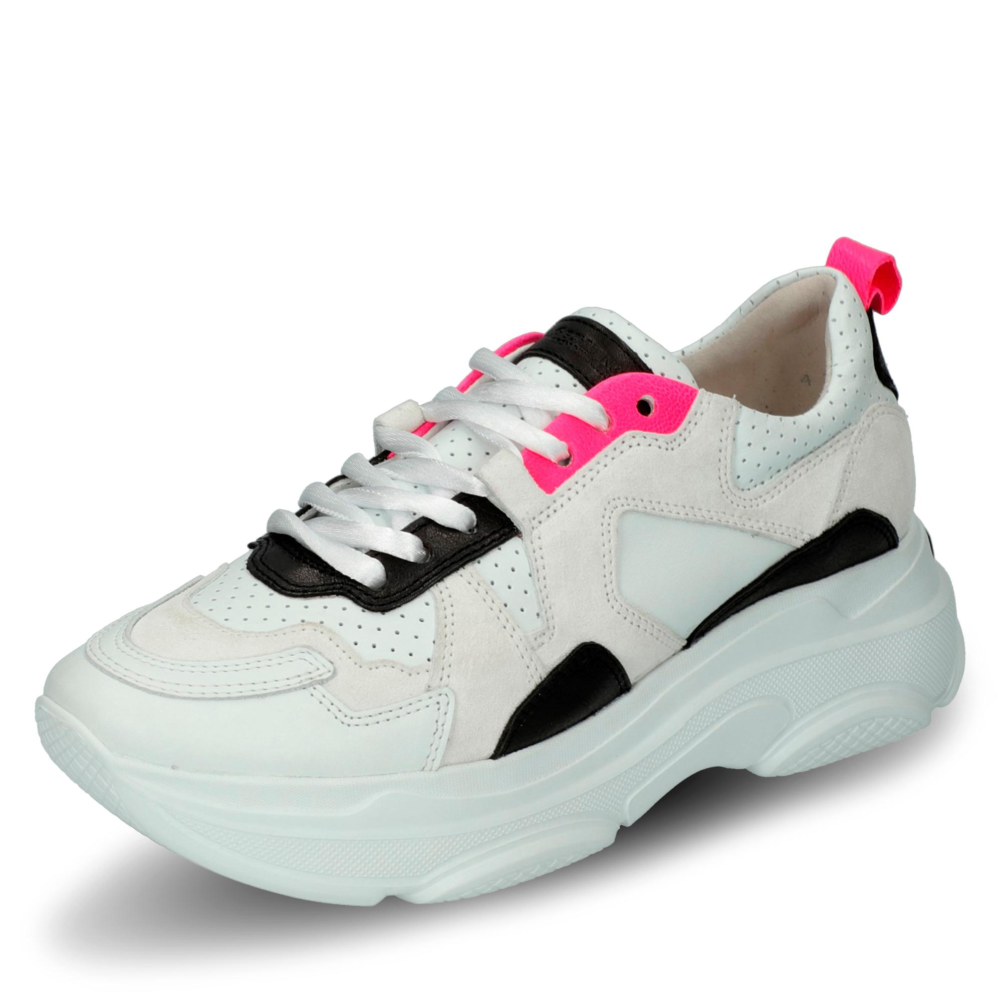 great quality new product check out Kennel & Schmenger Cloud Sneaker - weiß/schwarz/pink ...