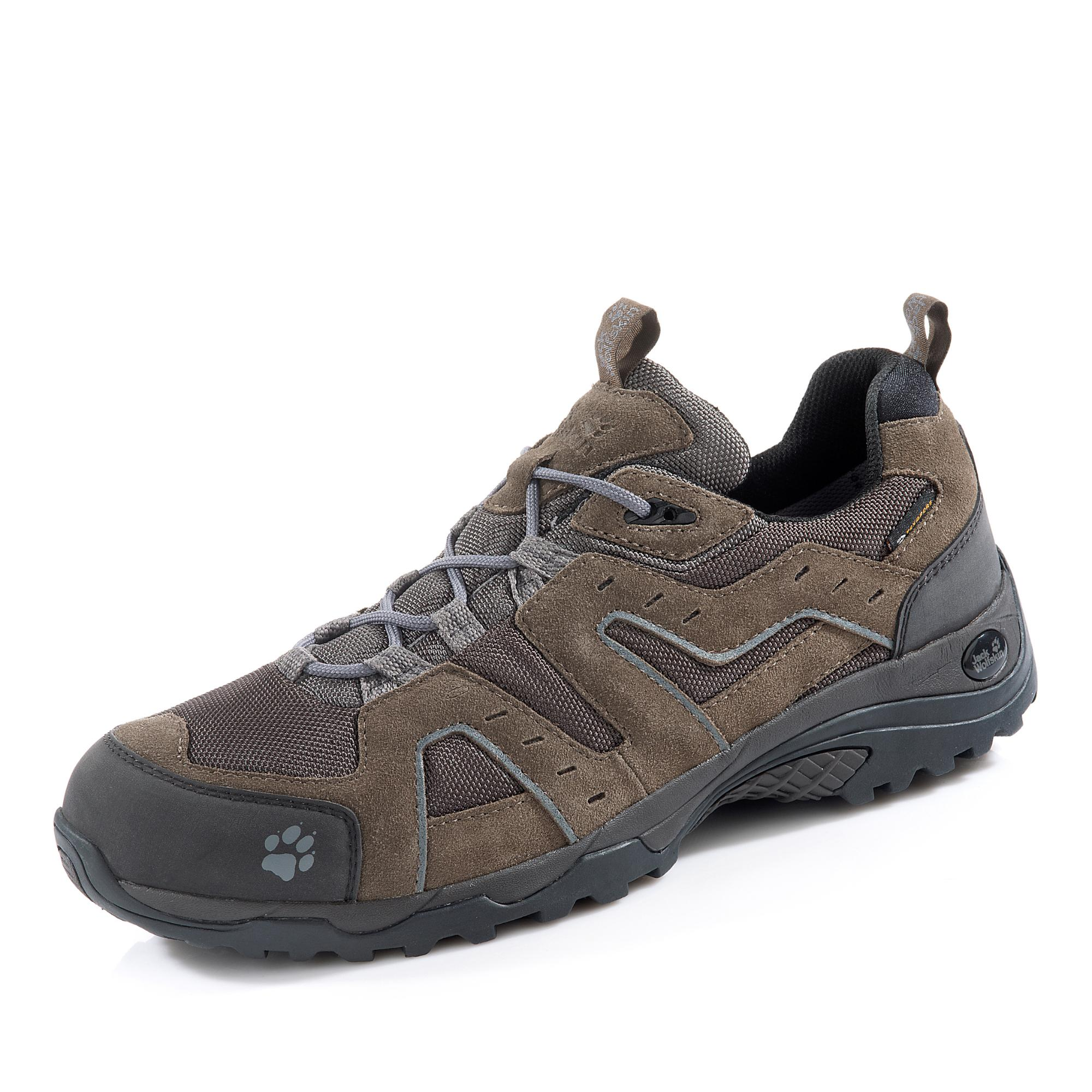 Jack Wolfskin Glenwood Texapore® Wanderschuh, Groesse 6,5, Taupe