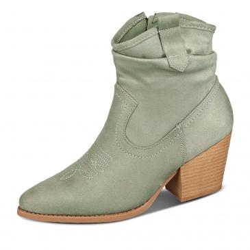 Shoecolate Stiefelette - khaki