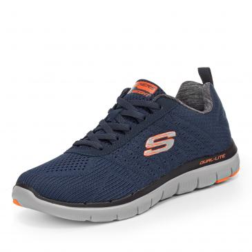 Skechers Flex Advantage 2.0 - The Happs Sneaker - blau