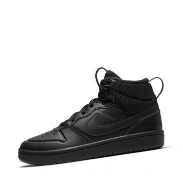Nike Court Borough Mid 2 Sneaker - schwarz