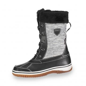 CMP Siide Clima Protect Winterboots - schwarz/grau meliert