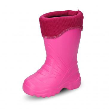 Beck PVC-Stiefel - pink