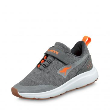 Kangaroos Sneaker - grau/orange