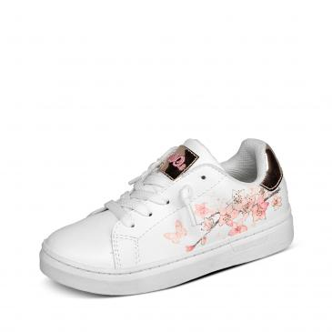 s.Oliver Sneaker - weiß/rosa