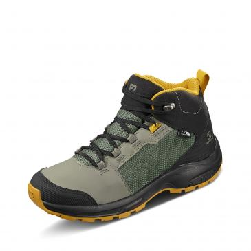 Salomon OUTward CSWP Winterboots - khaki/schwarz