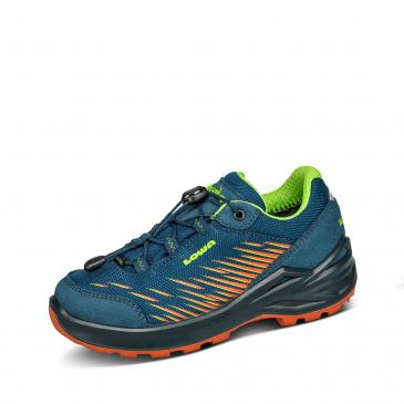 Lowa Zirrox GORE-TEX Lo Outdoorschuh - blau/orange