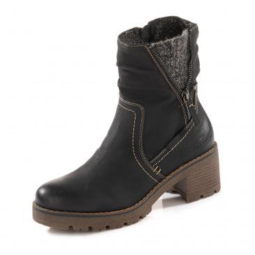 Tom Tailor TEX-Boots - schwarz