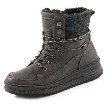Tom Tailor TEX-Boots - grau