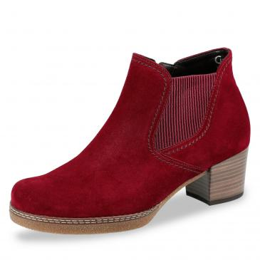 Gabor Comfort Chelsea Stiefelette - rot