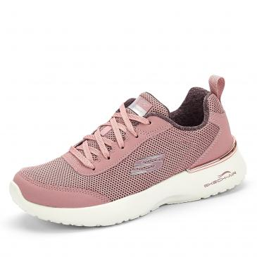 Skechers Air Dynamight Sneaker - rosa/weiß