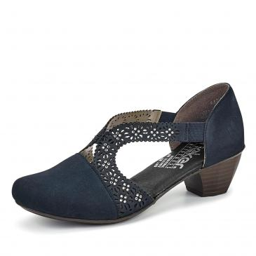 Rieker Pumps - blau