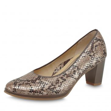 Ara Orly Pumps - taupe/snake
