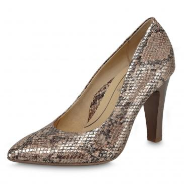 Ara Pumps by Frauke Ludowig - taupe/snake