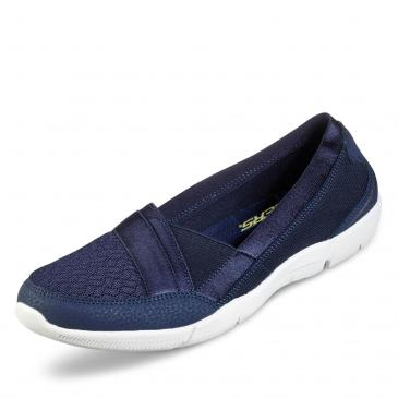Skechers Be-Lux Slipper - blau