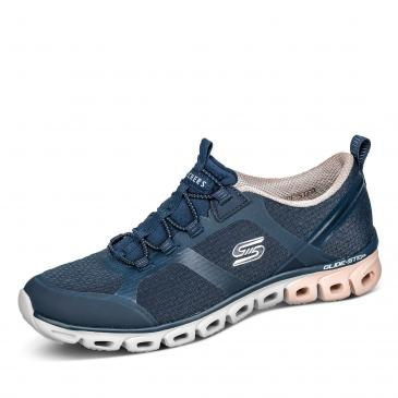 Skechers Glide-Step - Dashing Days Sneaker - dunkelblau