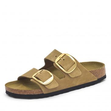 Birkenstock Arizona Big Buckle Pantolette - grün
