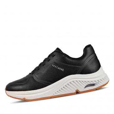 SKECHERS Arch Fit S-Miles - Mile Makers Sneaker - schwarz/offwhite