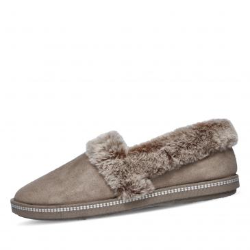 SKECHERS COZY CAMPFIRE - Team Toasty Hausschuh - taupe