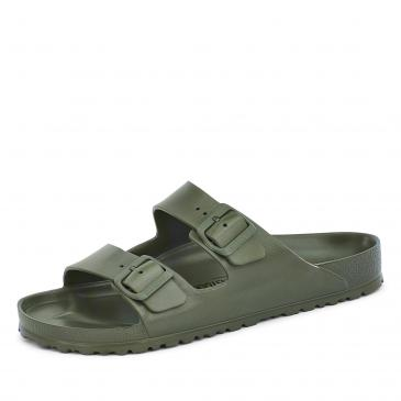 Birkenstock Arizona Pantolette - normal - khaki