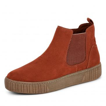 Marco Tozzi Chelsea Boots - rot