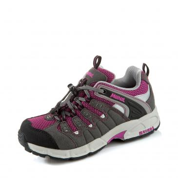 MEINDL Respond Junior Outdoorschuh - grau/lila