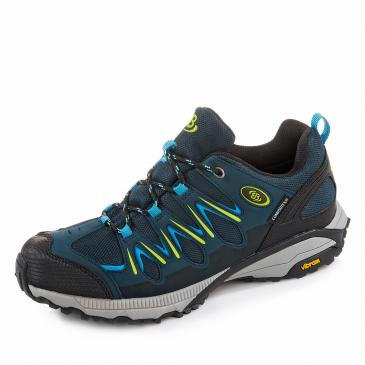 Brütting Expedition COMFORTEX Outdoorschuh - marine/blau/lemon