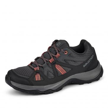 Salomon Alliston Outdoorschuh - anthrazit/lachs