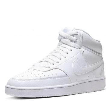 Nike Court Vision Mid Sneaker - weiß