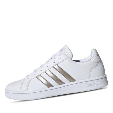 adidas Gand Court Base Sneaker - weiß/metallic
