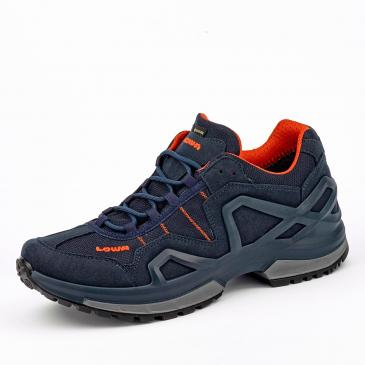 Lowa Gorgon GORE-TEX Outdoorschuh - dunkelblau/orange