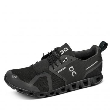 On Cloud Waterproof Laufschuh - schwarz