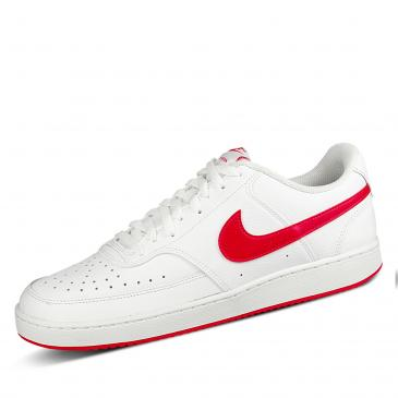Nike Court Vision Low Sneaker - weiß/rot