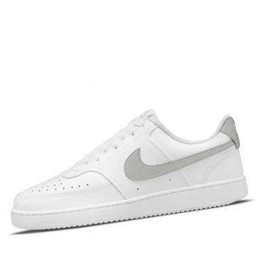 NIKE Court Vision Low Sneaker - weiß/silber