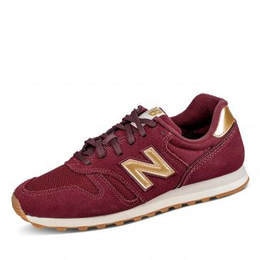 New Balance 373 Sneaker - bordeaux/gold