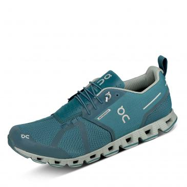 ON Cloud Waterproof Laufschuh - blau