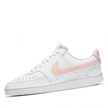 Nike Court Vision Low Sneaker - weiß/rosa