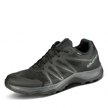 Salomon Warra GORE-TEX Wanderschuh - schwarz/anthrazit