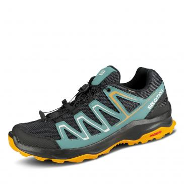 Salomon Custer GORE-TEX Outdoorschuh - anthrazit/gelb