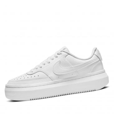 NIKE Court Vision Alta Leather Sneaker - weiß