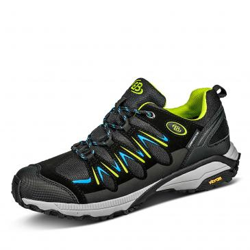 Brütting Expedition COMFORTEX Outdoorschuh - schwarz/lemon/blau