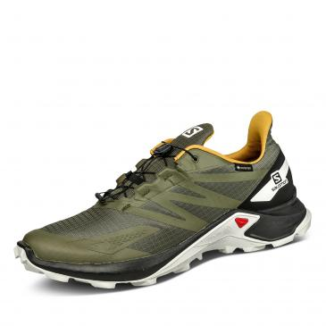 Salomon Supercross Blast GORE-TEX Outdoorschuh - oliv/schwarz