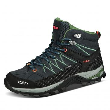 CMP Rigel Mid Clima Protec Wanderstiefel - anthrazit/olive