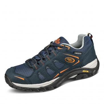 Brütting Mount Frakes Outdoorschuh - dunkelblau/orange