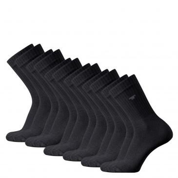 Tom Tailor Sportsocken 6er Pack - 6x schwarz
