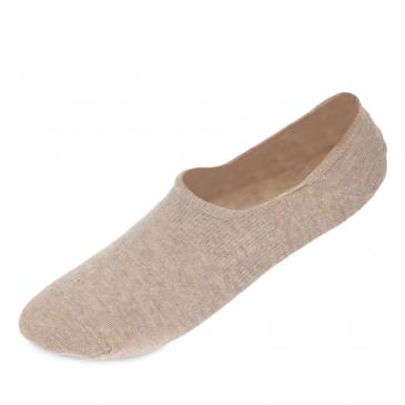 Camano Invisible Sneakersocken 2er Pack - 2x sand