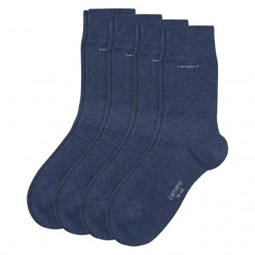Camano ca-soft Basic Socken 4er Pack - marine