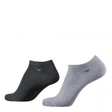 Tom Tailor Sneakersocken 8er-Pack - 8x grau