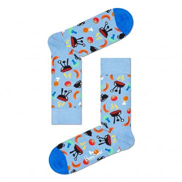 Happy Socks Socken - hellblau/gemustert